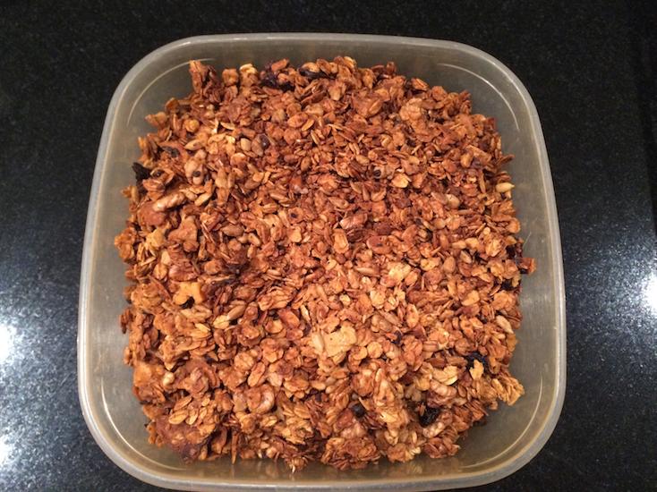 moja domowa granola